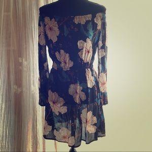 Billabong Off the Shoulder Summer Dress